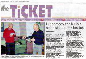 Halstead Gazette 11/4/2014